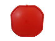 RED MIXING TRAY, CHILDREN'S PLAY MAT, SAND PIT, WATER, PLASTIC, TOYS, POOL PIT,