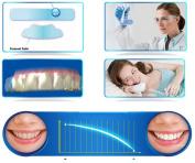 Advanced Teeth Whitening Strips - Peroxide-Free