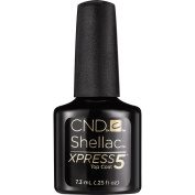 CND Shellac Xpress5 Top Coat, 5ml