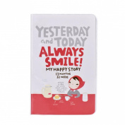 Coromose® Cute Diary Notebook Red Hat Girl Agenda Weekly Planner