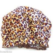Gal Pal Bouffant Shower Cap - Leopard