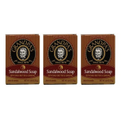 Grandpa's Sandalwood Bar Soap with Shea Butter and Ginseng, 100ml