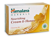 Himalaya Herbal Healthcare Nourishing Cream and Honey Cleansing Bar, 130ml