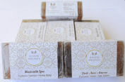 Golden Naturals Turmeric Lemon Oil Honey 125 Gms Soap