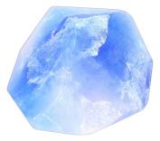 "180ml ""Blue Diamond"" Soap Rock"