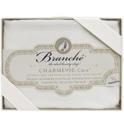 Creme Charmeuse 100% Silk Boudoir Pillow Slip 1 pc by Branche