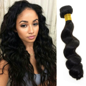 Feelontop® 6a Grade 5pcs Lot Malaysian Hair Weaves Unprocessed Malaysian Loose Wave Hair Weave Wavy Hair