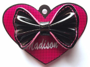 Madison K. Life, Life, Fun Small Black Patent Bow Accessory