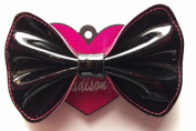Madison K. Life, Life, Fun Large Black Patent Bow Accessory
