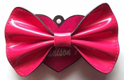 Madison K. Life, Life, Fun Large Pink Patent Bow Accessory