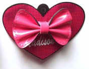 Madison K. Life, Life, Fun Small Pink Patent Bow Accessory