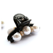 Exquisite Pearl Hair Clip Gripper Mini Hairpin for Ladies