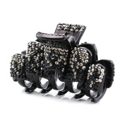 Hair Claw Jaw Pin Butterfly Clip Rhinestones Hair Styling Accessories for Women Teens