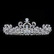 Crystals Crown Bridal Tiara Wedding Hair Jewellery Women Hair Accessories Rhinestone Tiara Headpiece Birthday Crown Headpiece SHA8715