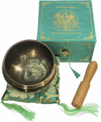 Green Tara Singing Bowl Gift Set - 11cm
