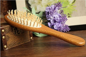 Sunny-business Vintage Birthday Health Handmade Natural Wood Massage Comb