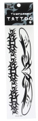 ACVIP Black Totems Temporary Tattoo Paper Sheet Stickers Transfer Tattoos 5 Pieces