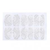 Susenstone® Lace Diamond Flower Stickers Nail Art Tips