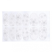 Susenstone® Lace Diamond Flower Stickers Nail Art Tips