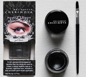 "CHERIMOYA Gel Eyeliner with Mini Brush Applicator - ""Black"""