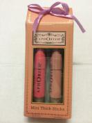 Aph Orism 2 Mini Thick Sticks Creme Lip Colour Crayons Set