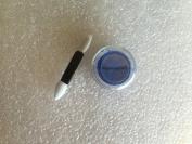 3g Jar Matte Ultramarine Dry Blue Eye Shadow with 5.1cm Eyeshadow Stick