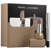 Marc Jacobs Beauty the Nude(ist) Set Lip Gel in Role Play ~ Gel Eye Crayon in Blacquer ~ Pochette ~ Mirror