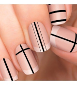 100% Authentic Incoco Nail Polish 16 Double-ended Strips By It's a Nail - Headliner