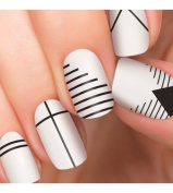 100% Authentic Incoco Nail Polish 16 Double-ended Strips By It's a Nail - Echo