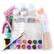 Fashion Zone Nail Cutter Dappen Dish Wood Stick Nail Art Tool Kit