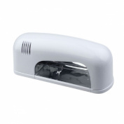 Lowpricenice(TM)9W White Nail Art UV Gel Curing Lamp Dryer Light EU PLUG JD 906