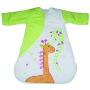 PurFlo Travel SleepSac, Embroidered Giraffe 1.0 Tog