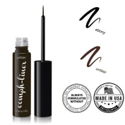 "CUEPIDO ""Oomph-liner"" HEALTHY WATERPROOF LIQUID EYELINER with Precise Eye Liner Brush (BROWN) ♥ Extra Long-lasting Long-wearing Power ♥ Rich Colour to Create Big Eyes ♥ Specially Formulated to be SAFE and HEALTHY â .."