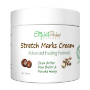 Stretch Mark & Scar Cream - Best Natural Removal - Prevent Stretch Marks During Pregnancy - Great for Sensitive Skin - 120ml