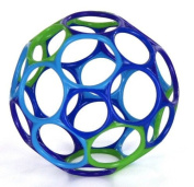 Rhino Toys Oball Original - Green/Blue/Light Blue