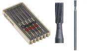 Maillefer Swiss Harden Tool Steel Cylinder Square Single Cut Bur 0.8mm