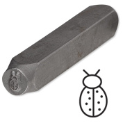 Ladybug Steel Design Stamp Punch Tool to Embellish Metal, Plastic, Jewellery Blanks, Clay+