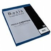 Basis Blue 80# Cover 22cm x 28cm -100 sheets Limited PapersTM Brand