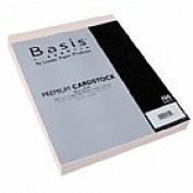 Basis Pink 80# Cover 22cm x 28cm -100 sheets Limited PapersTM Brand