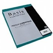 Basis Teal 80# Cover 22cm x 28cm -100 sheets Limited PapersTM Brand