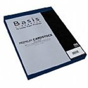 Basis Navy 80# Cover 22cm x 28cm -100 sheets Limited PapersTM Brand