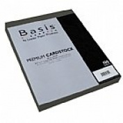 Basis Grey 80# Cover 22cm x 28cm -100 sheets Limited PapersTM Brand