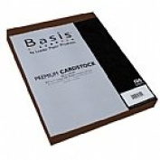 Basis Brown 80# Cover 22cm x 28cm -100 sheets Limited PapersTM Brand