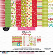 Bella Blvd Make It Merry Christmas Scrapbook Collection Kit