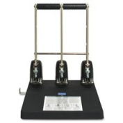 Power Punch, 3HP, 0.7cm Size, 160 Sheet Capacity, Black, Sold as 1 Each