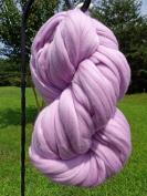 Lavish Lavender Wool Top Roving Fibre Spinning, Felting Crafts USA