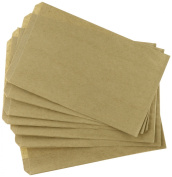 Cakesupplyshop Mycraftsupplies Small 100 Brown Kraft Paper Bags, 5 X 1.5 X 4.5, Good for Candy Buffets, Merchandise