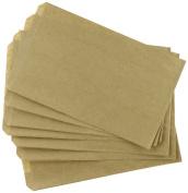 Cakesupplyshop Mycraftsupplies Small 100 Brown Kraft Paper Bags, 5 X 1.5 X 4.5, Good for Candy Buffets, Merchandise