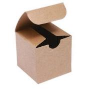 Cakesupplyshop Kraft Favour or Gift Box 3 X 3 X 4 | 10 Ct