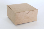 Cakesupplyshop Kraft Favour or Gift Box 4 X 4 X 6 | 10 Ct